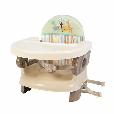 Summer Infant Deluxe Comfort Booster Baby Seat High Chair Feeding TAN NEW!