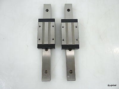SSELB16+150mm Used MISUMI Linear Bearing THK RSR15N NSK LM Guide 2Rail 2Block