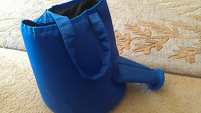 Watering can shape garden tools bag blue so cute