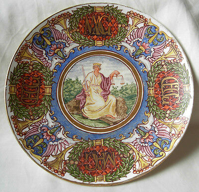 Antique Fully Hand Painted Minton Porcelain Cabinet Plate By --C.g.gray 1922