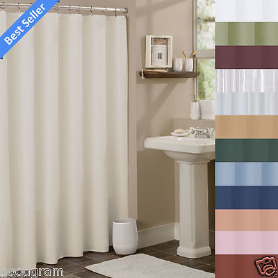 Hotel Collection Fabric Shower Curtain Liners By GoodGram