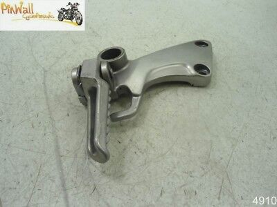 05 Kawasaki ZZR1200 ZX12 1200 PASSENGER LEFT FOOT PEG/ BRACKET