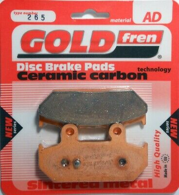 Rear Brake Pads for Suzuki Burgman GOLDfren 265AD