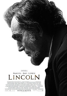 New Movie Poster Print - Lincoln **DISCOUNTED OFFERS**  A3 / A4