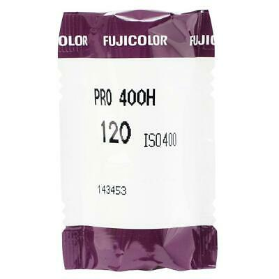 5 Rolls Fuji Color Pro 400H ISO 400 120 Color Negative Film, 11/2020 (NPH-120)