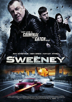 New Movie Poster Print - The Sweeney **DISCOUNTED OFFERS**   A3 / A4