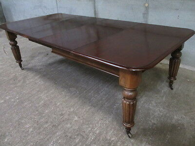 Superb 19th Century Mahogany extending dining table (ref 1173)