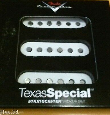 NEW set FENDER CUSTOM SHOP TEXAS SPECIAL STRAT - 0992111000 - stratocaster -