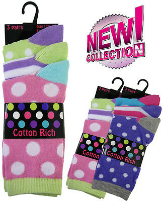 Girls ankle socks pack of 3