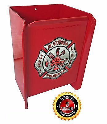 Plattinum, Fire Extinguisher Holder Powder Coated Safety Red All Aluminum