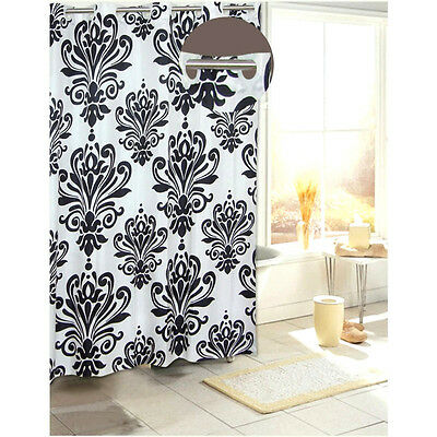 Beacon Hill Hookless Fabric Shower Curtain