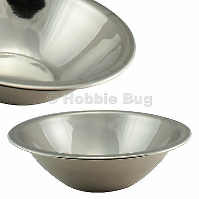 """11"""" 4 Qt. Stainless Steel Kitchen Large Mashing Mixing Bowl For Restaurant/Home"""
