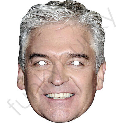 Phillip Schofield Celebrity Card Face Mask - All Our Masks Are Pre-Cut!