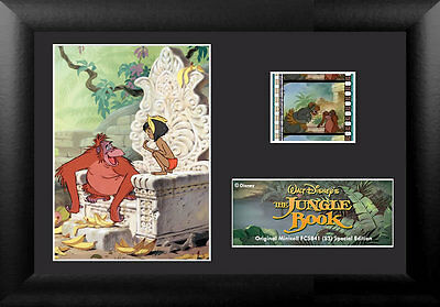 Film Cell Genuine 35mm Framed Matted Disney Jungle Book Special Edition S3 5841