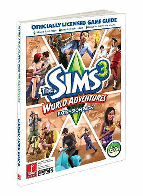 Prima Games the Sims 3 WORLD ADVENTURES Official Game Guide EXPANSION PACK*