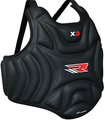 RDX Advance Chest Body Protector Guard MMA Armour Muay Thai Kick Boxing Karate P