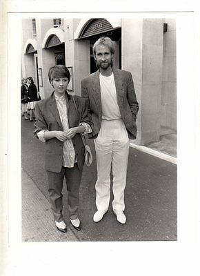 Publicity Photograph  8X10 - Mike Rutherford - ( Genesis ) -  Anne Diamond