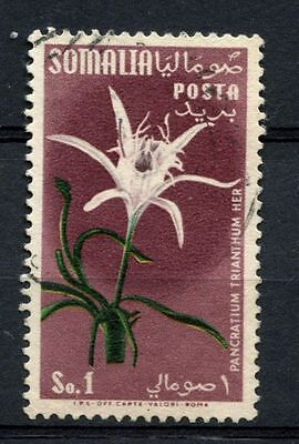 Somalia 1955 SG#289, 1s Flowers Used #A68718