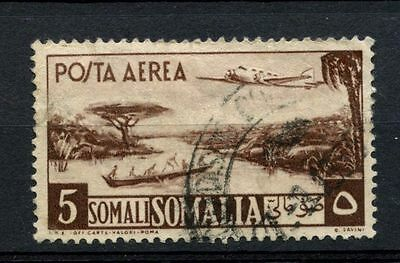 Somalia 1950-1 SG#253, 5s Air Used #A68731