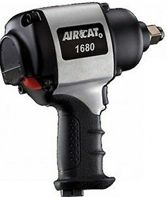 """Aircat Air Cat 1680 3/4"""" Super Duty Impact Wrench Twin Hammer Quiet technology"""