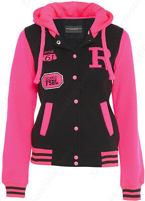 NEW GIRLS JACKET COAT HOODEd FLEECE Girls CLOTHING AGE 7 8 9 10 11 12 13 PINK