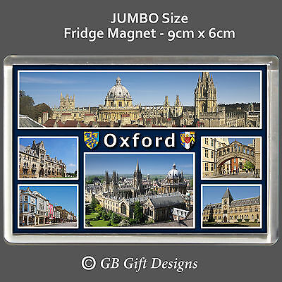 Oxford - University - College - England -Jumbo Fridge Magnet  Gift Souvenir