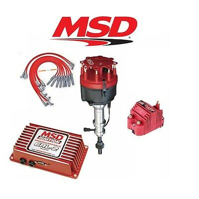 MSD Ignition Kit- Programmable 6AL-2/Distributor/Wires/Coil - Ford Early 289/302