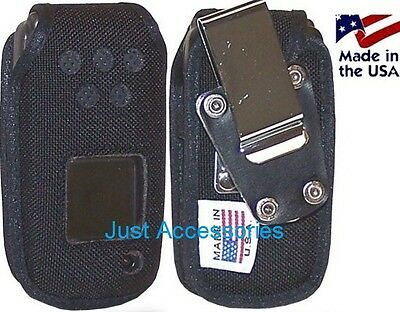AT&T Samsung A847 Rugby2 A837 Rugby Rugged Belt Clip Holster Case HD Nylon
