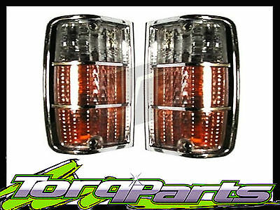 Pair Suit Hj Hx Hz Kingswood Front Indicator Turn Signal Lamp Blinker Corner