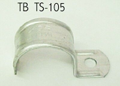 "(20) Thomas & Betts 1-1/2"" Thin wall Conduit Snap Straps TS 105 Galvanized Steel"