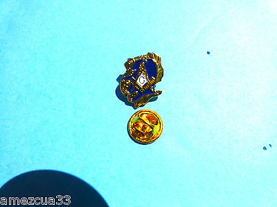 Masonic  Master Mason Lapel Pin Old Style