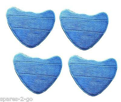 Vax S3 S3S S2S-1 PRO Steam Cleaner Mop Pads Microfibre Washable Pad Covers x 4