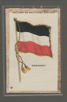 [36780] OLD TOBACCO SILK FLAG of GERMANY