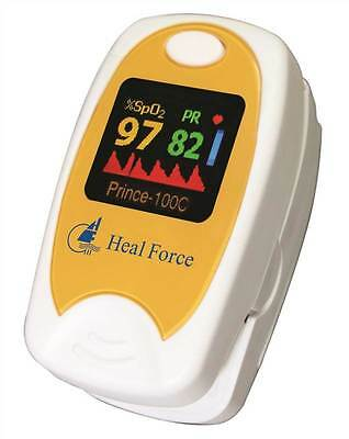 Heal Force Prince 100C2 Dual Colour Fingertip Pulse Oximeter