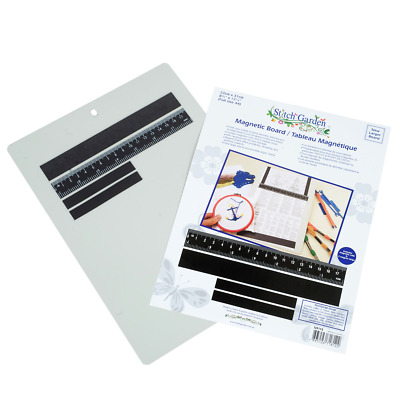 "Line Marker Magnetic Board 8.75"" x 12.25""  X Stitch & Needle"