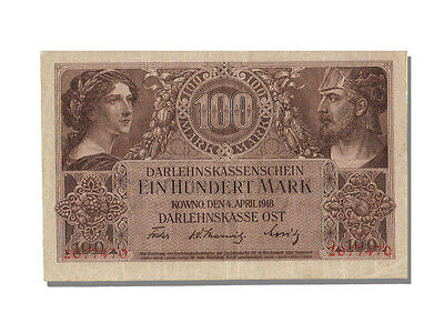 Banknoten Germany, 100 Mark Type Kowno