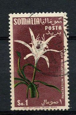 Somalia 1955 SG#289, 1s Flowers Used #A68713