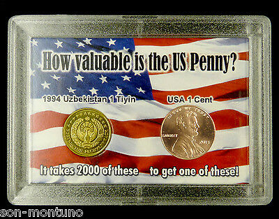 """World's Most Worthless Coin & 2013 Lincoln Cent  """"How Valuable is the US Penny?"""""""
