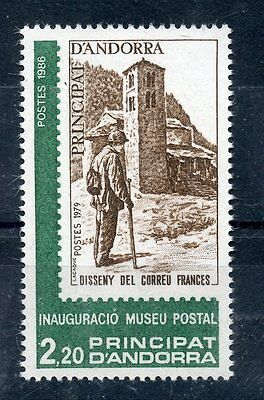 STAMP / TIMBRE ANDORRE NEUF ** N° 345 ** inauguration du musée postal