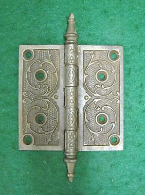 Entrance Door Victorian Steeple Point Door Hinge Extra Large #1834-13