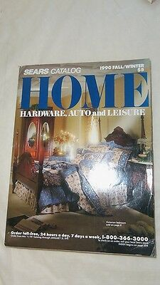 Sears Catalog 1990 Fall Winter Home Hardware Auto and Leisure 1066 Pages