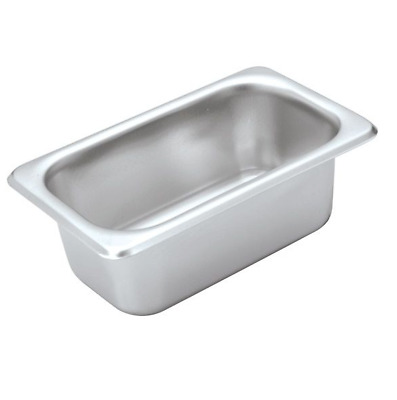 X6 Bain Marie Trays / Steam Pans / Gastronorm Pans 1/9 65 mm