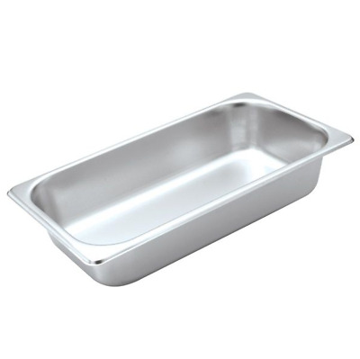 X6 Bain Marie Trays / Steam Pans / Gastronorm Pans 1/3 65 mm