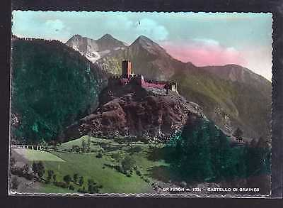 Cartolina Brusson Castello di Graines B345