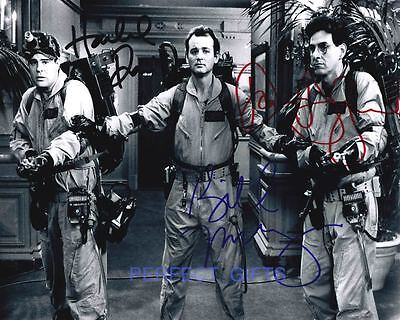 Ghost Busters Cast Signed 10X8 Pp Photo Bill Murray Dan