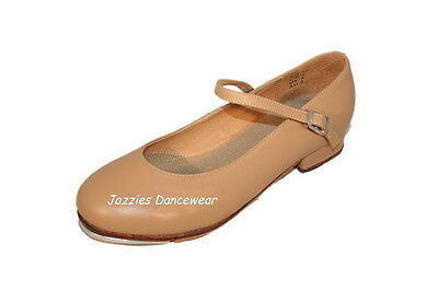 Low Heel Tan Tap Shoes Girls and Ladies NEW sizes below