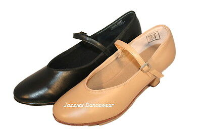 Cuban Heel Tap Shoes / Shoe Tappers - Tan or Black NEW Size US4 to US11