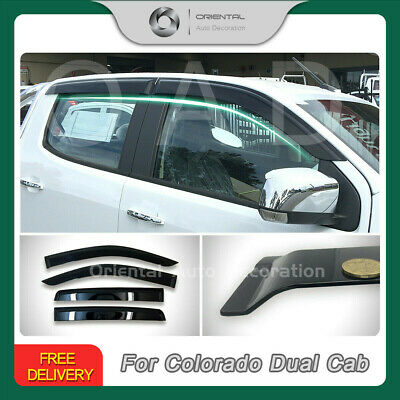 Premium Weathershields Weather Shields Window Visor Colorado RG 12-19 4pcs SJ