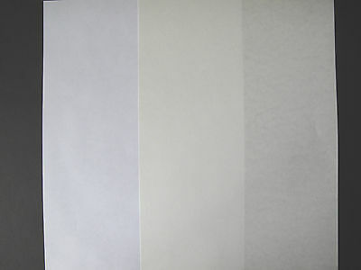 20x A4 Parchment Paper 90gsm (Pic Parch right againist white copier left) AM351