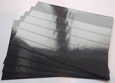 Prinz Stockcards 210 x 148mm  5-strips with coverfoil. Brand new.